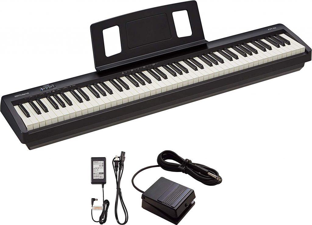 Best Piano Under $500 - Roland FP-10-BK