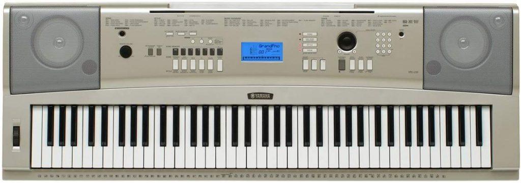 Top 10 Best Digital Pianos: Yamaha YPG-235