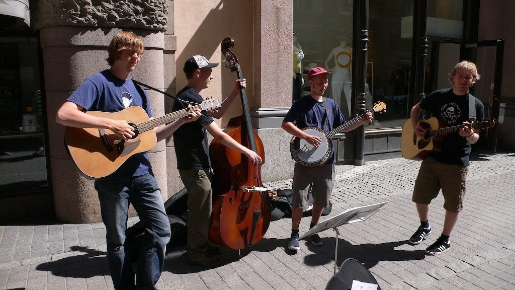 Street Performers - The Original First Gig