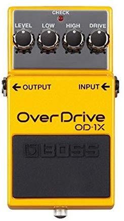 Effect Pedals: Boss OD-1X