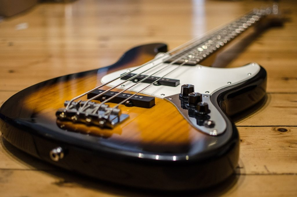 Bass Guitar used in Funk