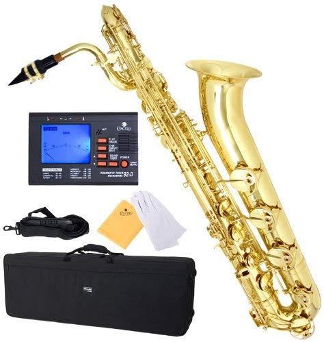 Baritone Saxophone: Mendini MBS 30L