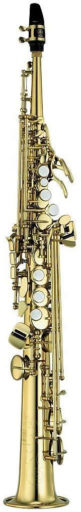 Soprano Saxophone: Yamaha YSS-475II