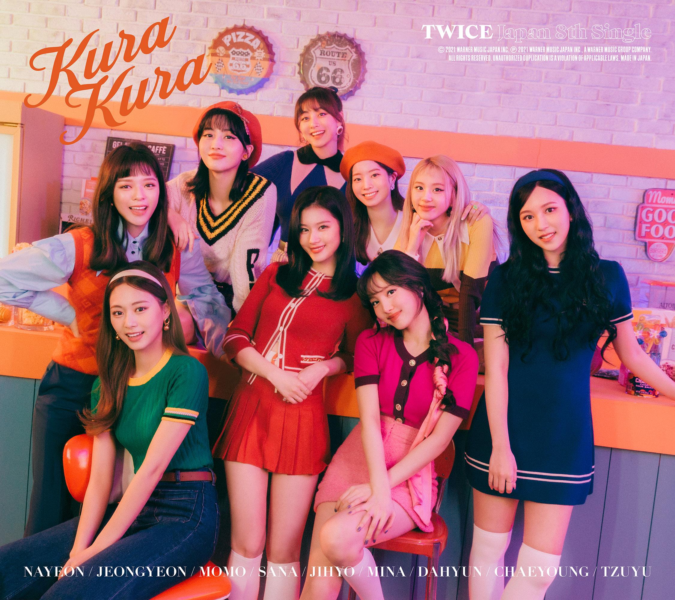 Twice Kura Kura Album Cover